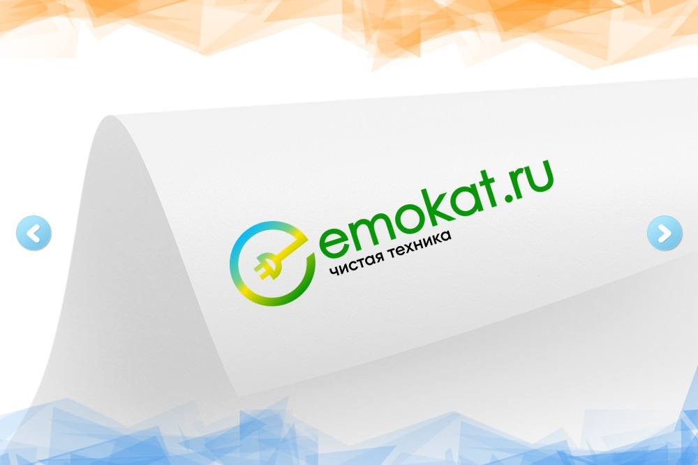 Дизайн логотипа для компании «Emocat» вид 1