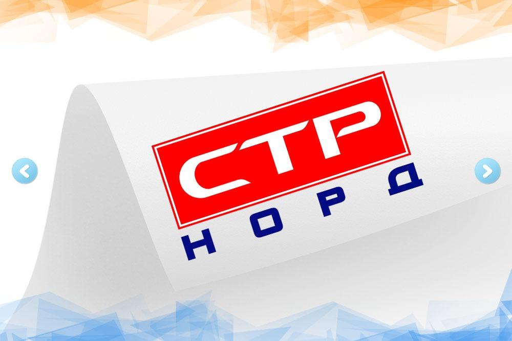 Дизайн логотипа для компании «СТР Норд» вид 1