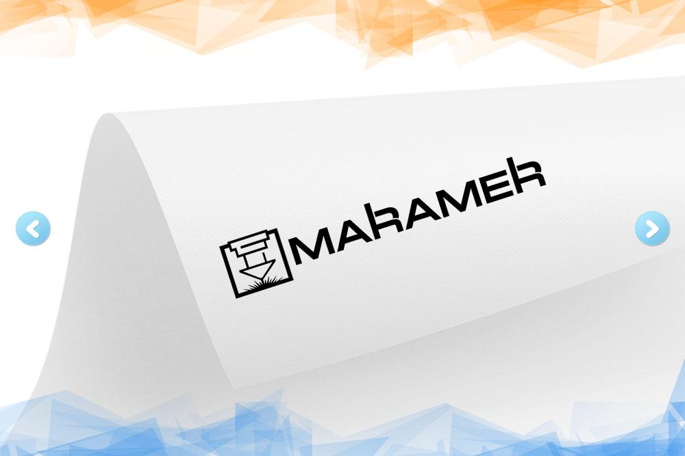 Дизайн логотипа для компании «Maramer» вид 1