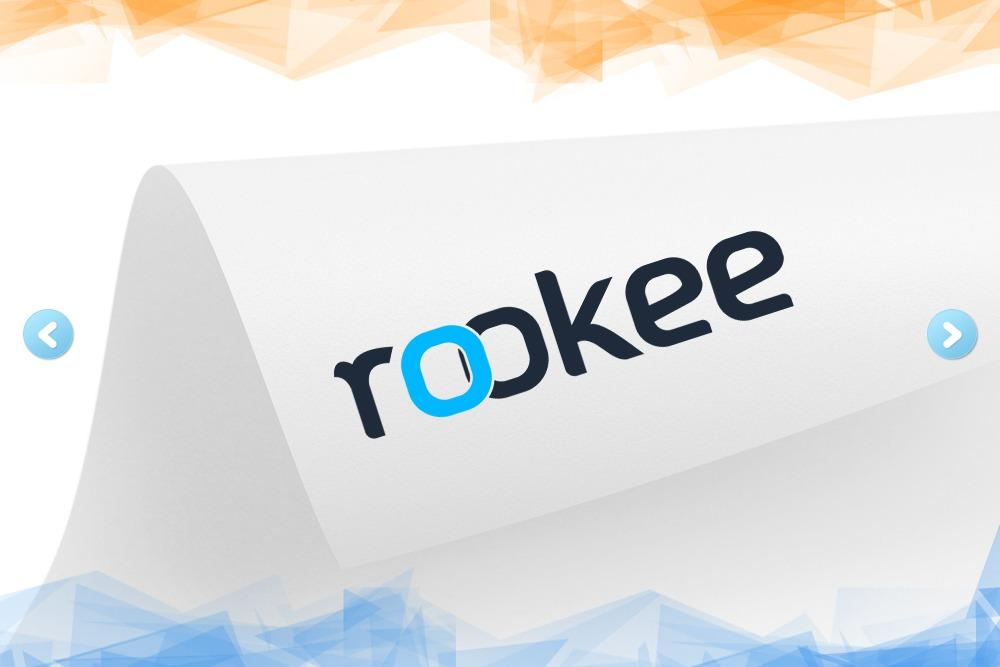 Дизайн логотипа для компании «Rookee» вид 1