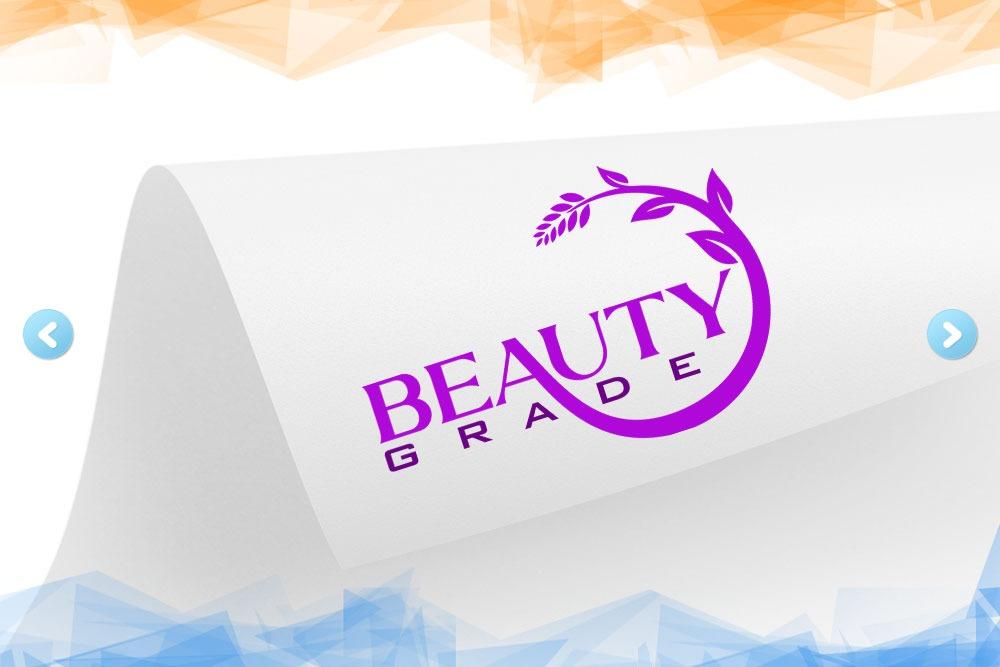 Дизайн логотипа для компании «Beauty Grade» вид 1