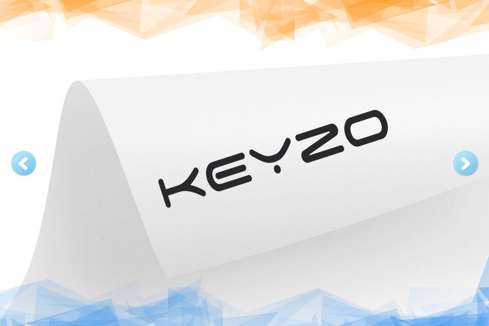 Дизайн логотипа для компании «Keyzo» вид 1