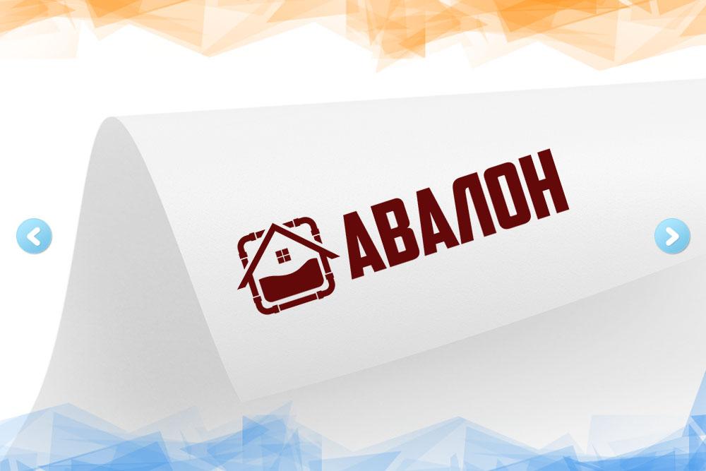 Дизайн логотипа для компании «Авалон» вид 1